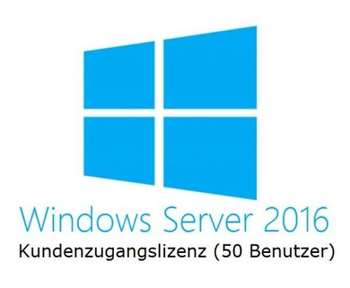 HPE Microsoft Windows Server 2016 50 User CAL