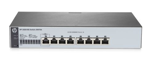 HPE 1820-8G - Switch - verwaltet